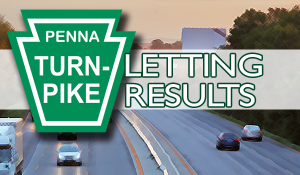 January 13 – PA Turnpike Letting Results