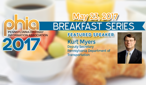 Kurt Myers to Speak at PHIA Breakfast