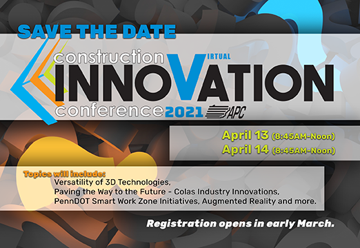 2021 Construction Innovation Virtual Conference @ Online