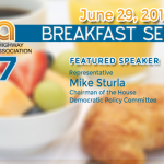 Rep. Mike Sturla to Speak at PHIA Breakfast