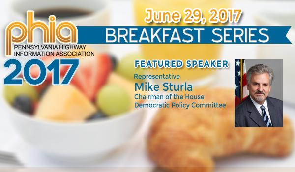 Rep. Mike Sturla to Speak at PHIA Breakfast