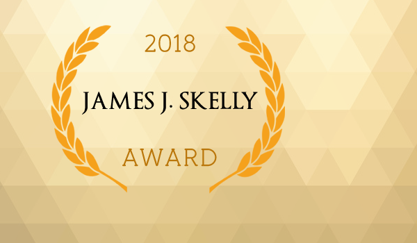 2018 JAMES J. SKELLY AWARD
