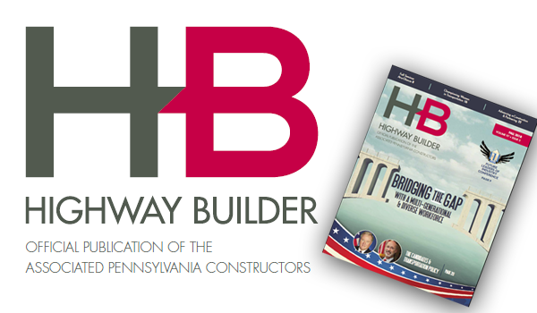 Fall Issue of Highway Builder Now Available