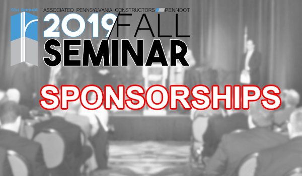 Secure your Fall Seminar Sponsorship Now!
