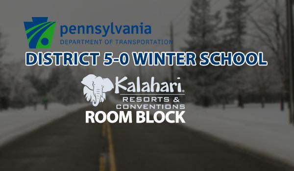 District 5-0 Winter School – Room Block