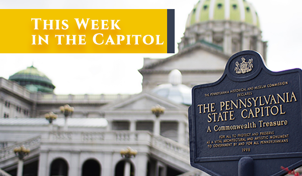 This Week in the Capitol…July 30