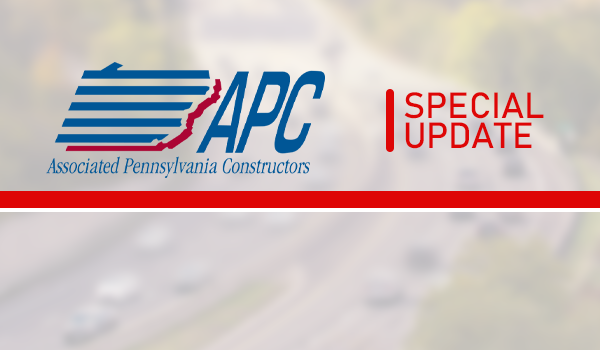 PennDOT Projects to Continue – Shutdown Avoided (For Now)