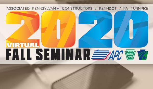 2020 APC Fall Seminar to Go Virtual