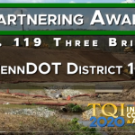 2020 TQI Partnering Award: US 119 Three Bridges
