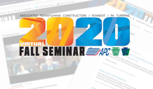 It's a Wrap… The 2020 Virtual Fall Seminar