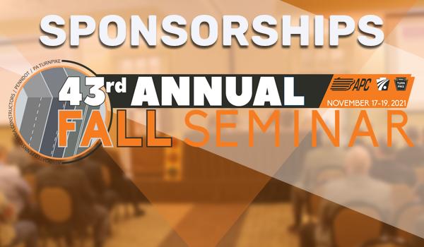 Sponsor or Advertise at the 2021 Fall Seminar